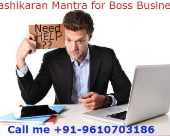 Vashikaran Mantra to control Boss Business